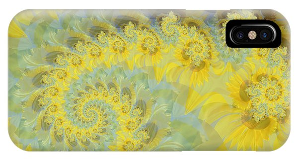 Sunflower Infused IPhone Case