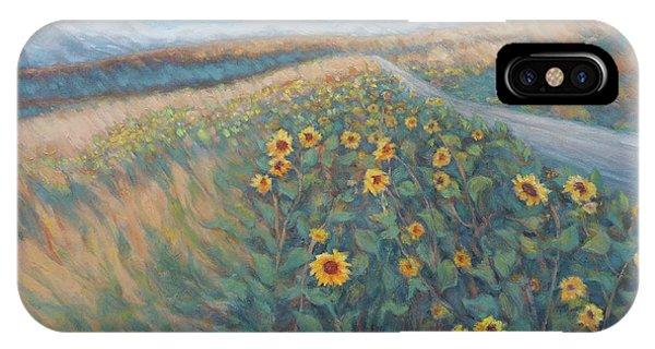 Sunflower Journey IPhone Case