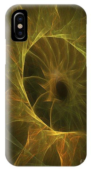 Sunflower Nebula Phone Case by Sandra Bauser Digital Art