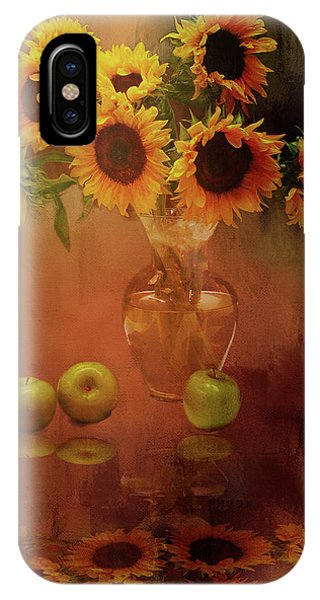Sunflower Reflections IPhone Case