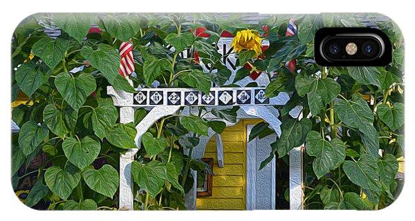 Sunflower Roads IPhone Case