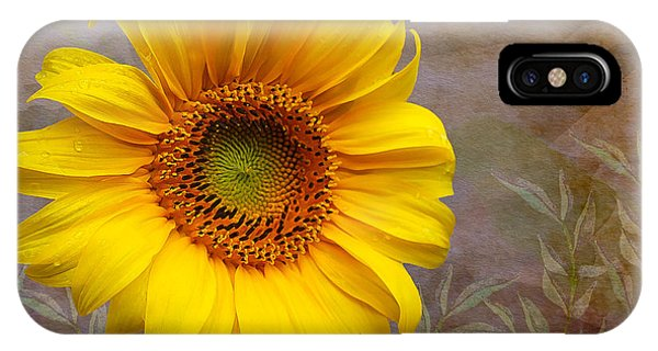 Sunflower Serenade IPhone Case