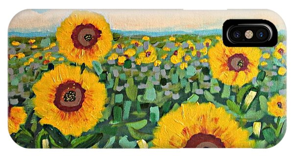 Sunflower Serendipity IPhone Case