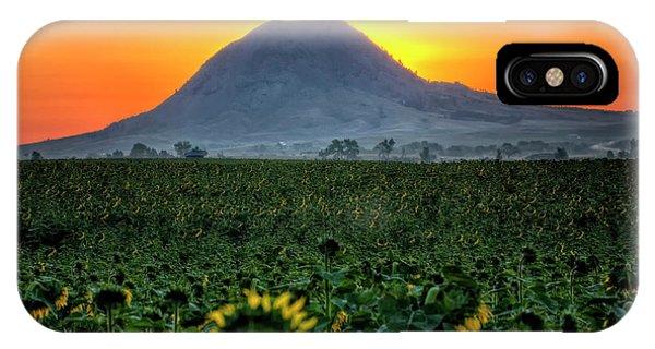 Sunflower Sunrise IPhone Case