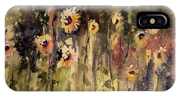 Sunflower Surprise IPhone Case