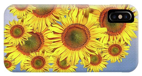 Sunflower Tree IPhone Case