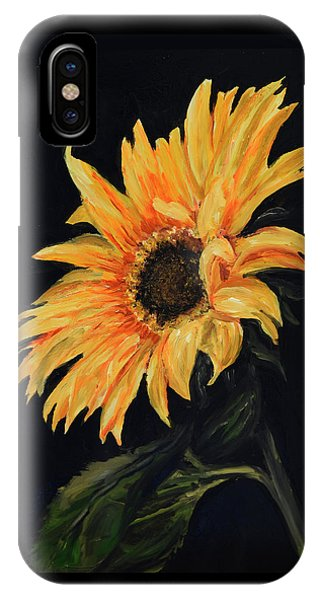 Sunflower Vii IPhone Case