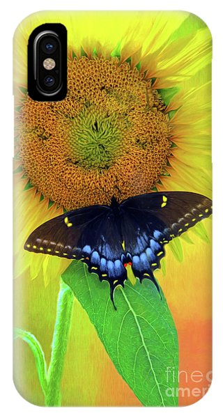 Sunflower With Company IPhone Case