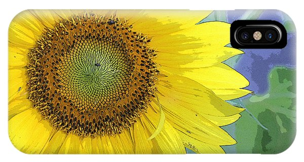 Sunflowers All Around IPhone Case