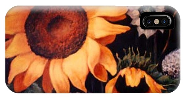 Sunflowers And More Sunflowers IPhone Case