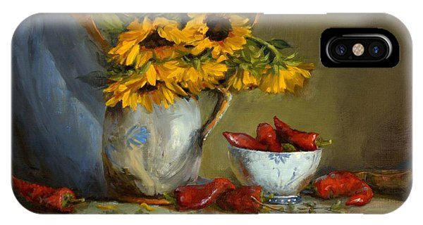 Sunflowers And Paprika IPhone Case