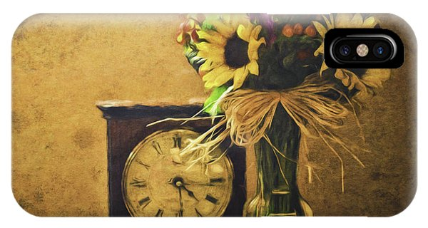 Sunflowers Floral Still Life 3 IPhone Case