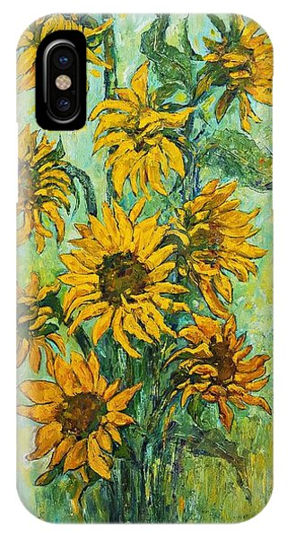 Sunflowers For This Summer IPhone Case