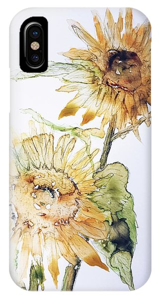 Sunflowers II Uncropped IPhone Case