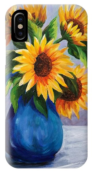 Sunflowers In Bloom IPhone Case