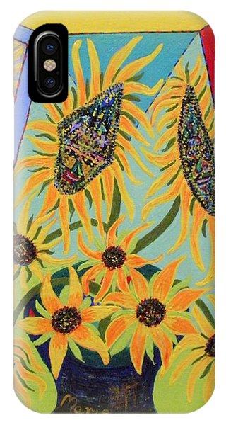Sunflowers Rhapsody IPhone Case