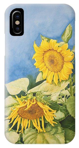 Sunflowers IPhone Case