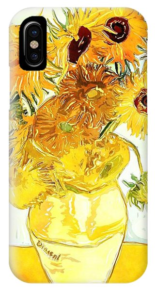 Sunflowers Van Gogh IPhone Case