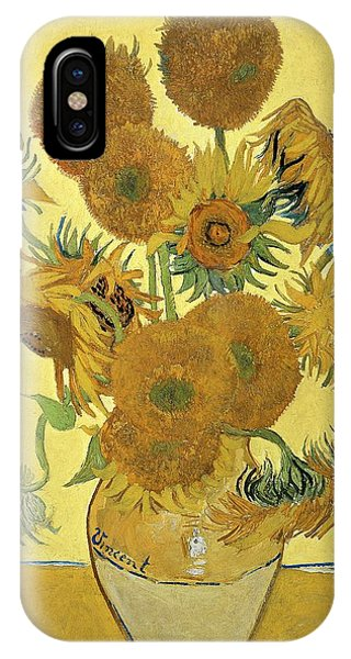 Beauty In Nature iPhone Case - Sunflowers, 1888  by Vincent Van Gogh