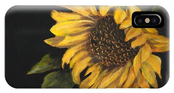 Sunflowervi IPhone Case