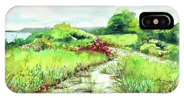 Sunken Meadow, September IPhone Case