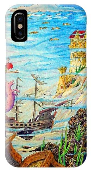 Sunken Ships IPhone Case