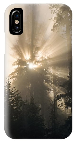 Sunlight And Fog IPhone Case