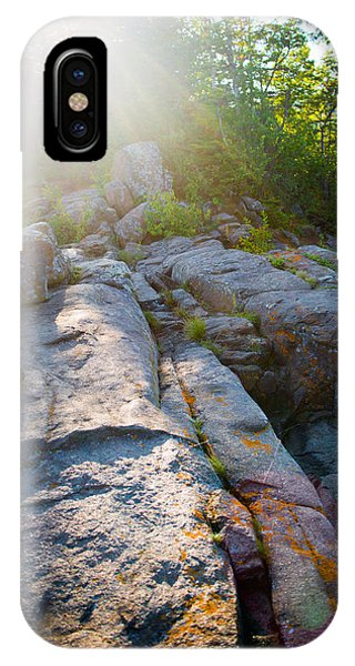 Sunlight On Cove Point IPhone Case