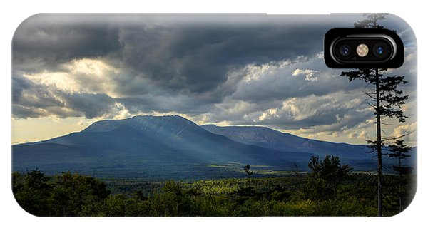 Sunlight On Katahdin IPhone Case
