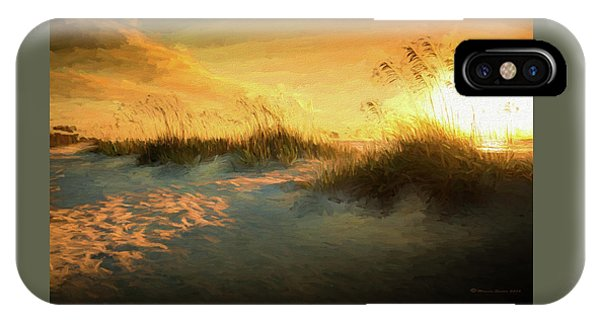 Sunlight On The Dunes IPhone Case