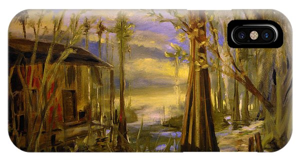 Sunlight On The Swamp IPhone Case