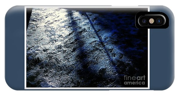 Sunlight Shadows On Ice - Abstract IPhone Case