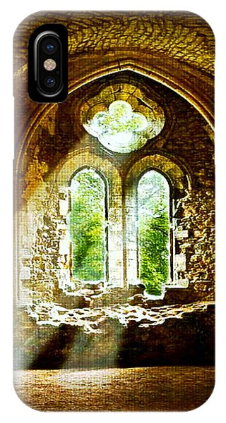 Sunlight Through The Ruins IPhone Case