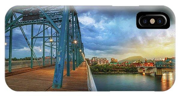Sunlight Thru Rain Over Chattanooga IPhone Case
