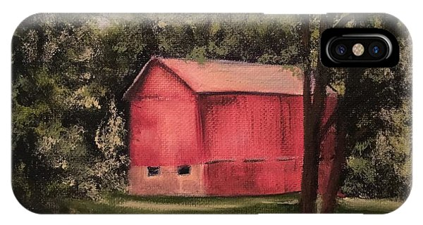 Sunlit Barn IPhone Case