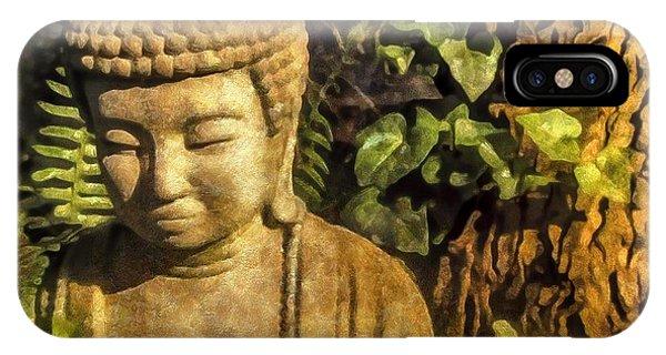 Sunlit Buddha 2015 IPhone Case