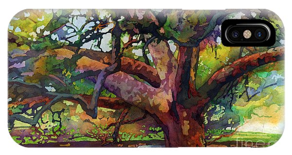 Sunlit Century Tree IPhone Case