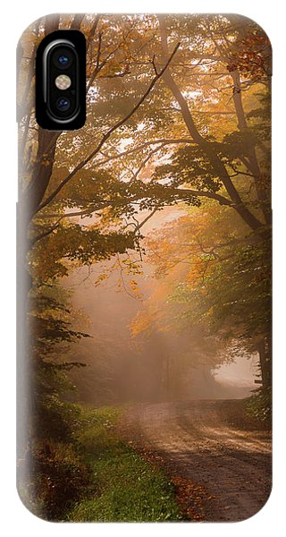 Serenity Of Fall IPhone Case