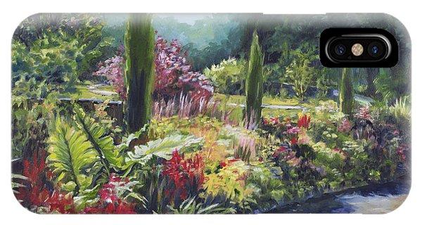 Sunlit Garden IPhone Case