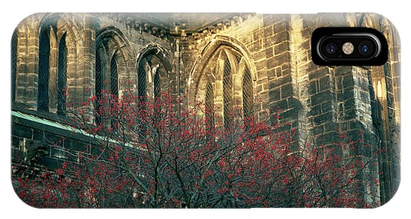 Sunlit Glasgow Cathedral IPhone Case