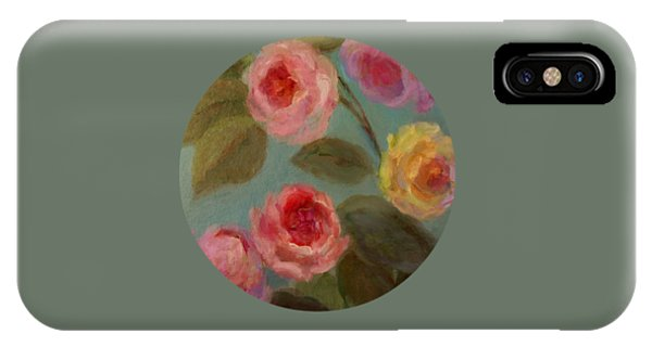 Sunlit Roses IPhone Case