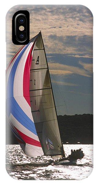 Sunlit Sails - Lake Geneva Wisconsin IPhone Case