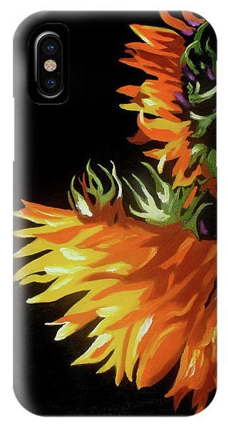 Sunlit Sunflowers IPhone Case
