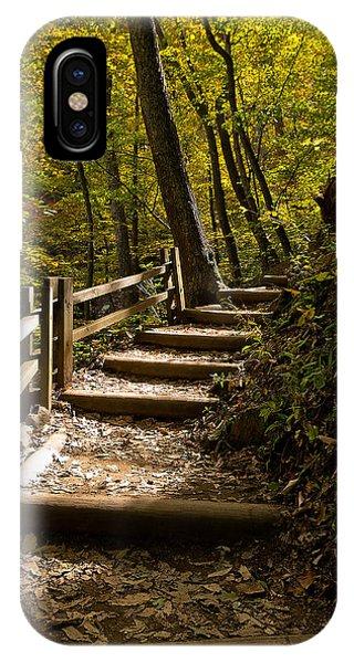 Sunlit Trail IPhone Case