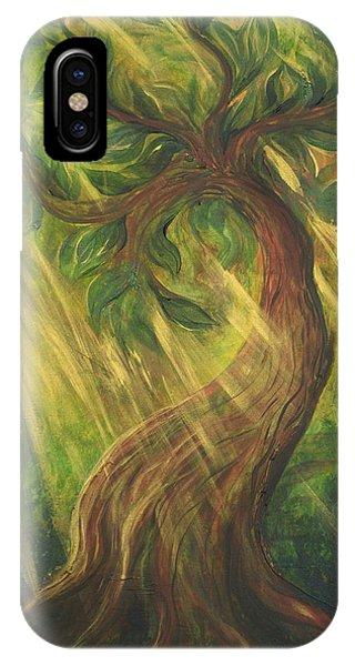 Sunlit Tree IPhone Case
