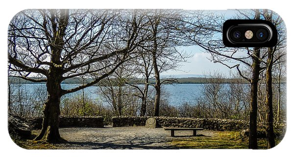 Sunny Afternoon At Lough Coole IPhone Case