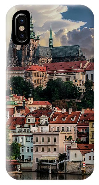 Sunny Afternoon In Prague IPhone Case