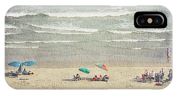 Sunny Day At North Myrtle Beach IPhone Case
