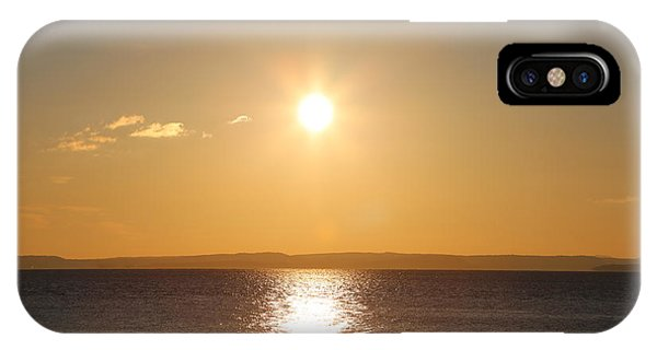 Sunny Day By The Oslo Fjords.  IPhone Case