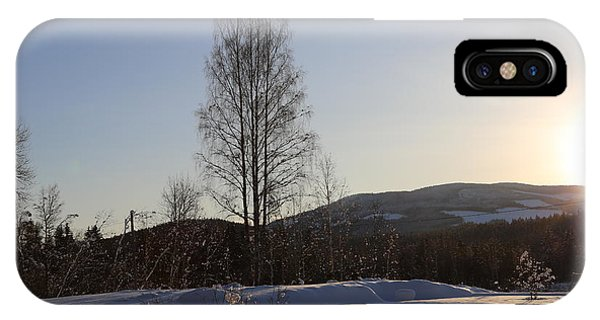 Sunny Day In Norway.  IPhone Case